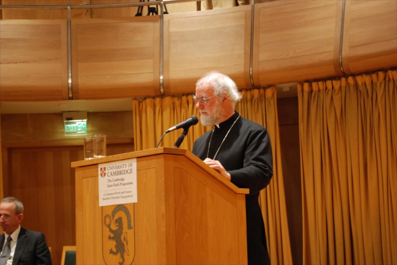 Common Word Conference, Cambridge | 8